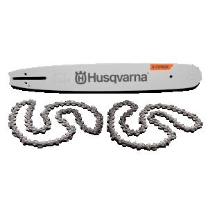 """Keti ja plaadi komplekt Husqvarna 15"""" .325"""" 1,3mm X-CUT 64HM (SP33G)"""